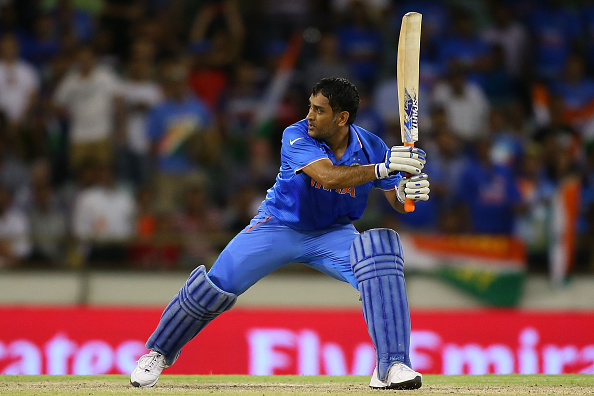Mahendra Singh Dhoni guided India to victory in Perth ©Getty Images