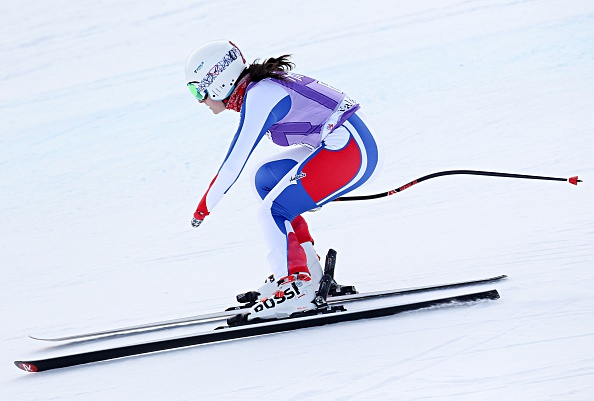 Marie Bochet earned her fourth gold of the World Championships ©Getty Images