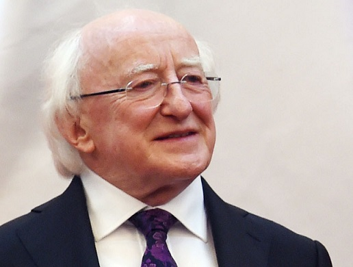 Michael D Higgins will be watching the Ireland v Canada Hockey World League Round 2 final in Dublin ©Getty Images