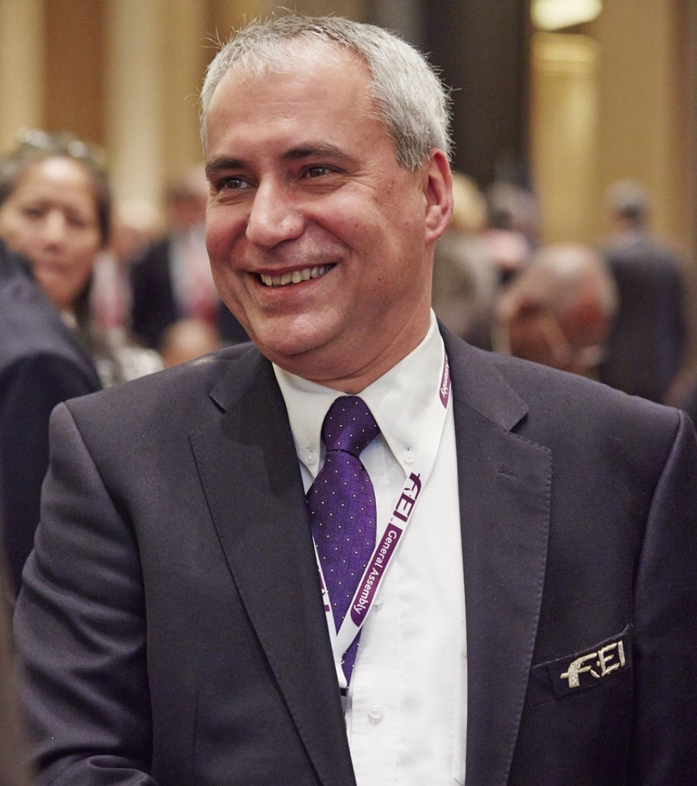 The row with the UAE authorities is a major challenge for FEI President Ingmar De Vos ©FEI