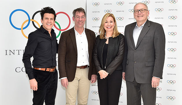 Officials from the German National Olympic Committee have attended a meeting with the IOC as part of the Invitation Phase for the 2024 Games bid process ©IOC/Christophe Moratal