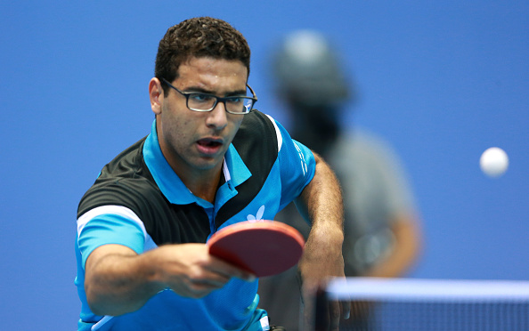 Omar Assar defended his men's singles title in Lagos ©Getty Images
