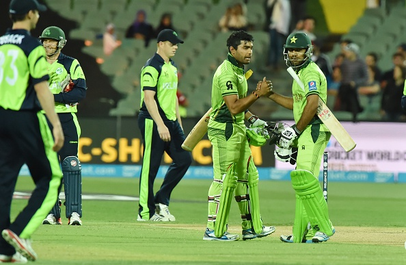 Pakistan ended Ireland's hopes of reaching the Cricket World Cup last eight ©AFP/Getty Images