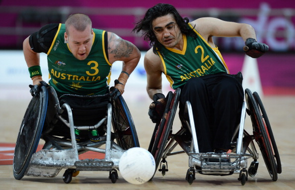 Paralympic champions Australia lead the eight-team field for the inaugural World Wheelchair Rugby Challenge ©Getty Images