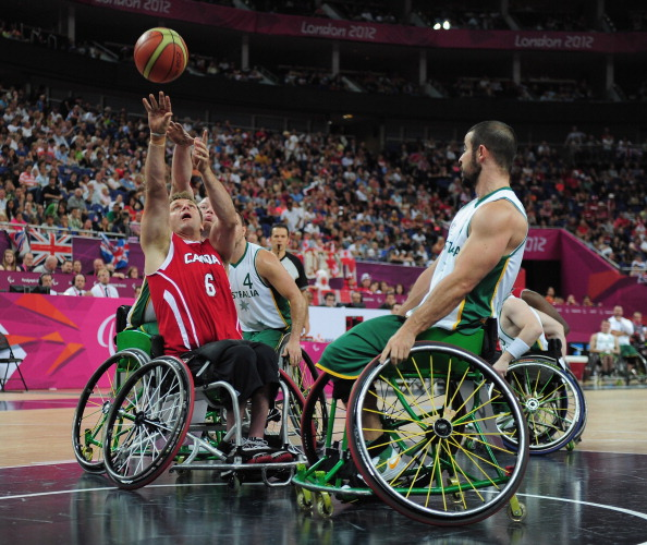 Paralympic champions Canada fell to defeat to an unbeaten United States team ©Getty Images