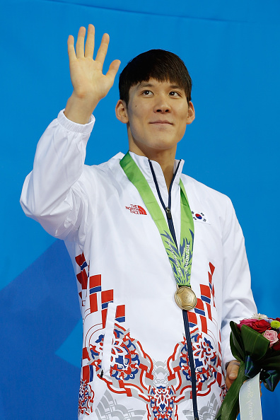 Park Tae-Hwan will be stripped of the six medals he won at the 2014 Asian Games ©Getty Images