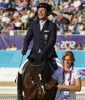 2012 London Paralympic gold medallist Pepo Puch is attending the Forum ©FEI