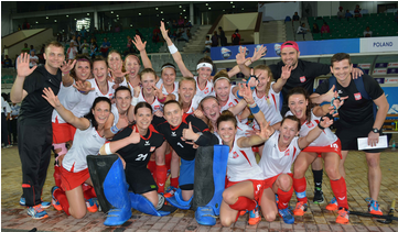 Poland's women edged out Malaysia to book their place in the final against India ©FIH