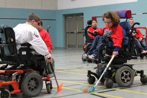 A new tournament to promote powerchair hockey has been launched ©IWAS/Facebook