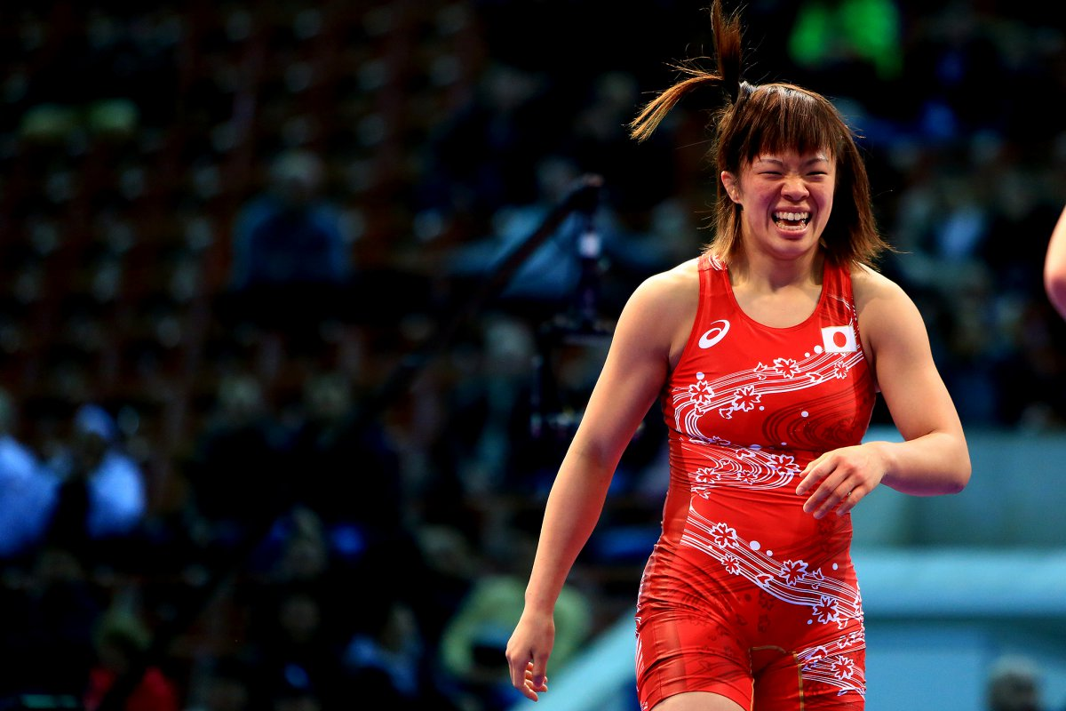 Risako Kawai was among the winners for Japan in the final ©United World Wrestling/Martin Gabor