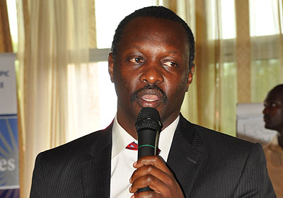 Rwanda National Olympic and Sports Committee President Robert Bayigamba believes sports journalists can help promote the Olympic Movement in Africa ©RNOSC