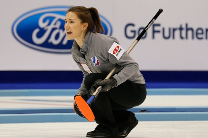 Russia will meet reigning champions Switzerland or Olympic gold medallists Canada in the semi-final ©World Curling Federation