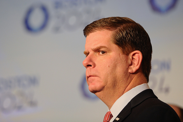 Salary details were released by Boston 2024 after the city's Mayor Martin Walsh called for greater transparency in the bid ©Getty Images