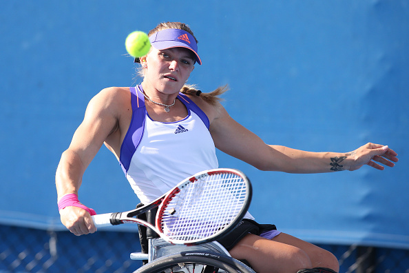 Second seed Jordanne Whiley awaits fellow Briton Louise Hunt in round two ©Getty Images