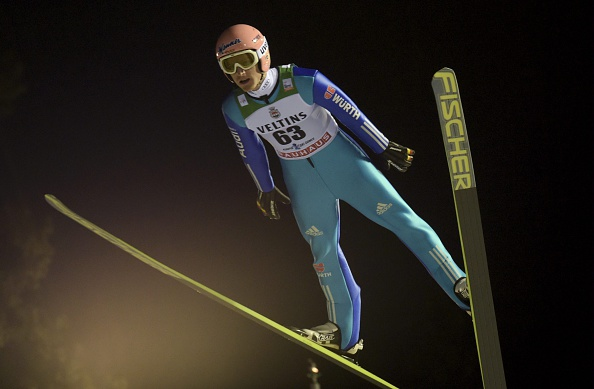 Germany's Severin Freund claimed victory after only one jump was possible in Kuopio ©AFP/Getty Images