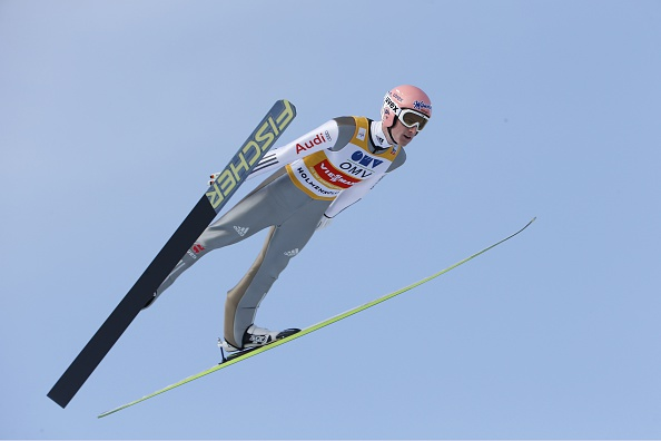 Severin Freund is well positioned to win the overall Ski Jumping World Cup title ©Getty Images