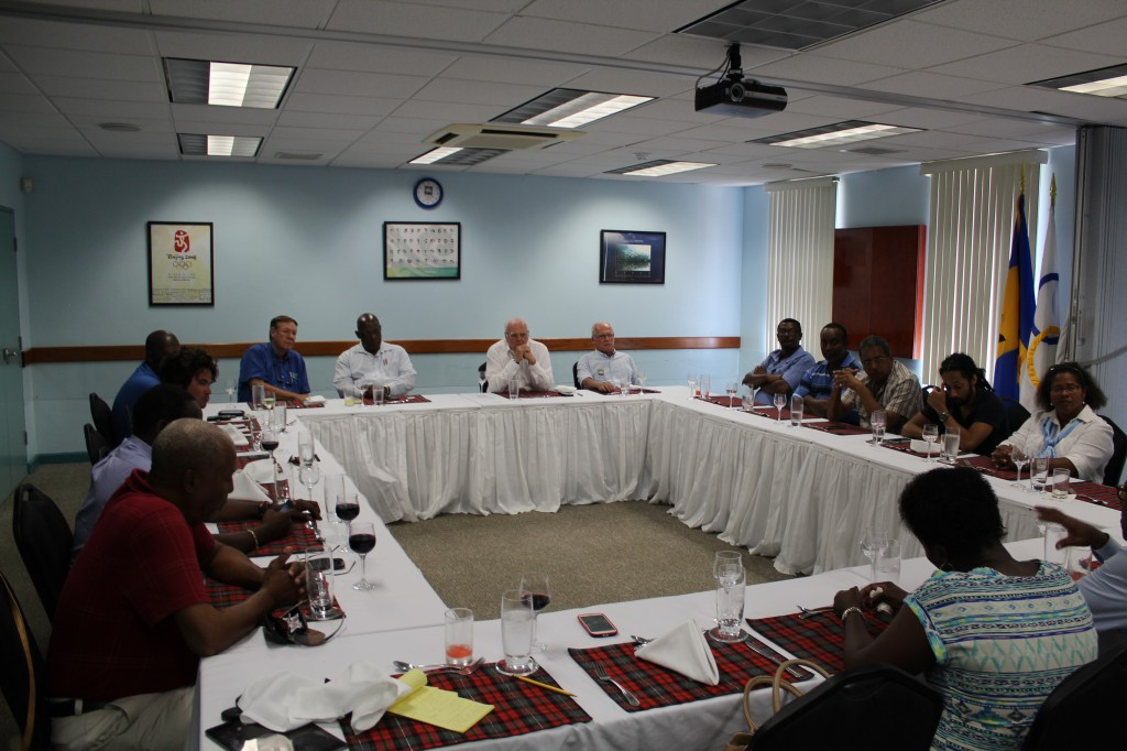Lunchtime meetings for national governing bodies have proved a success in Barbados in the past ©BOA