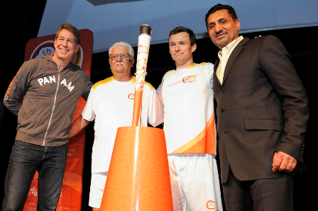 Toronto 2015 announce first batch of torchbearers and torch design