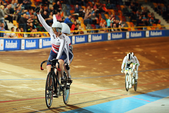 Sophie Thornhill and Helen Scott added to Britain's gold medal tally in Apeldoorn ©Getty Images