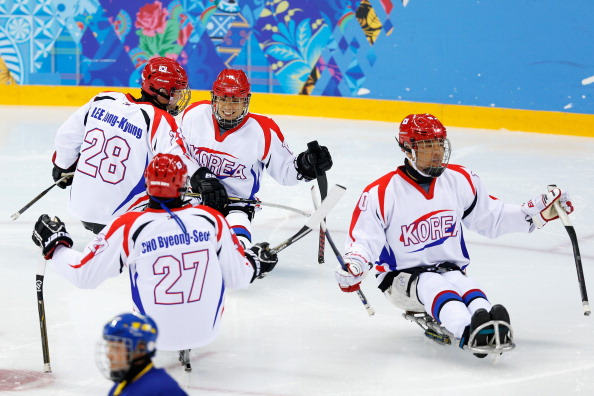South Korea and Sweden each won again today at the Ice Sledge Hockey World Championships ©Getty Images