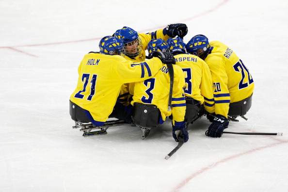 Sweden got their tournament off to the perfect start in front of a home crowd ©Getty Images