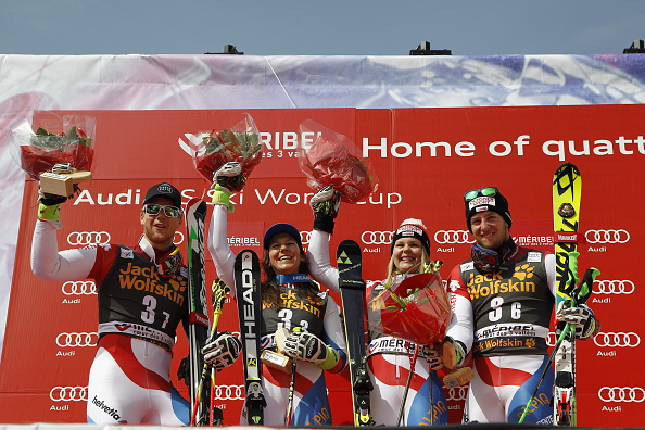 Switzerland earned a surprise victory in the Nations Team Event ©Agence Zoom/Getty Images