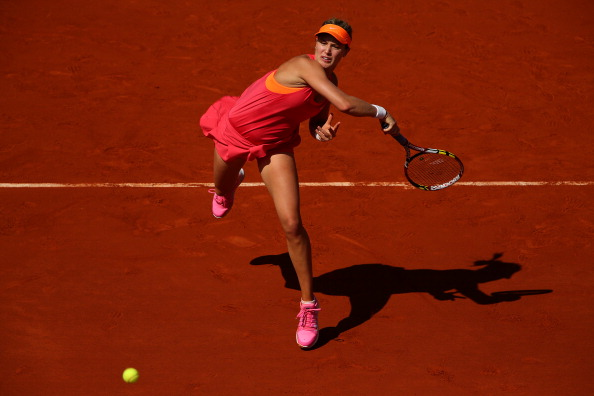 TSN and RDS drew a record audience for Eugenie Bouchard's French Open semi-final match against Maria Sharapova last year ©Getty Images