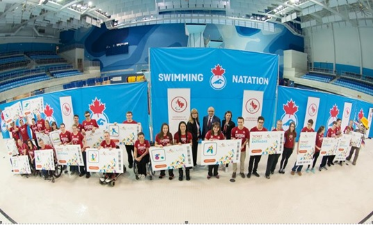The Canadian swimming team for the Parapan American Games in Toronto has been announced ©Canadian Paralympic Committee