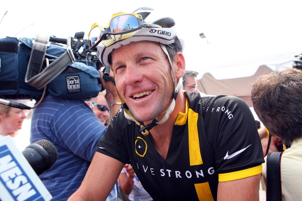 The Cycling Independent Reform Commission's report claims Masters races have middle-aged businessmen using EPO so they can train as hard as Lance Armstrong ©Getty Images
