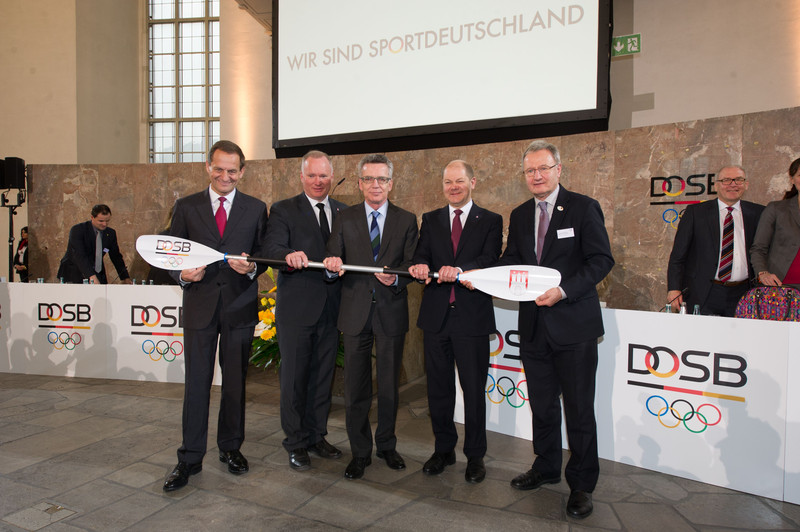 The German Olympic Sports Confederation general assembly have approved Hamburg's candidacy ©DSOB