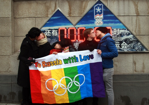 The IOC could face more years of protests, following those by pro-gay rights groups ahead of Sochi 2014 ©AFP/Getty Images