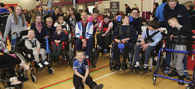 The latest ParalympicsGB Sports Fest attracted more than 550 people from across the North East of England ©BPA