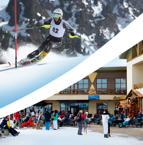 Shymbulak resort has been among proposed venues cut from the costs in order to reduce costs ©Almaty 2022