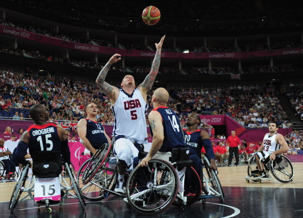 The United States were bronze medallists at the London 2012 Paralympics ©Getty Images