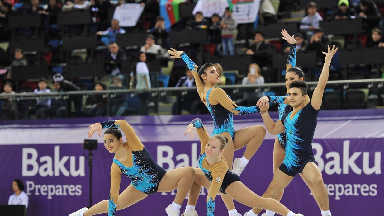 The latest Baku 2015 gymnastics test event came to a close today ©Baku 2015