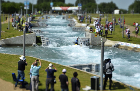 The report looked at six centres including the Lee Valley White Water Centre which hosted London 2012 canoeing ©Getty Images