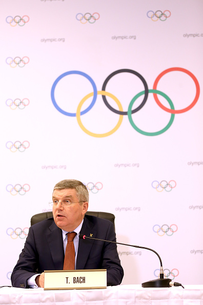 Thomas Bach claimed Rio 2016 will leave the Brazilian city with a strong legacy, including environmentally ©AFP/Getty Images