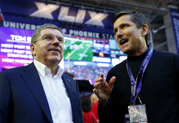 IOC President Thomas Bach appears to have ruled out the chances of American football becoming an Olympic sport ©Getty Images