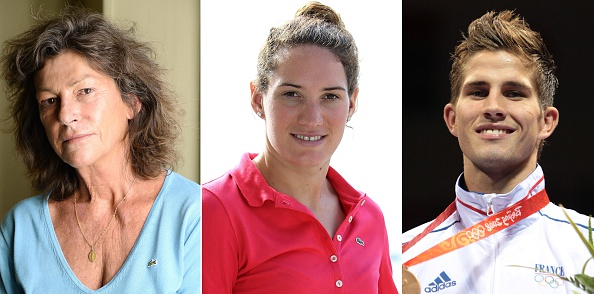 Sailor Florence Arthaud, swimmer Camille Muffat and boxer Alexis Vastine were all tragically involved ©AFP/Getty Images