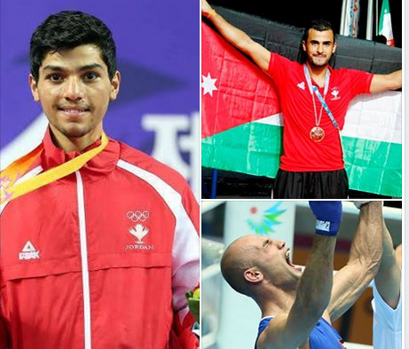 Three combat sports practitioners are in line to be named Best Sportsman at the Jordanian awards ©JOC