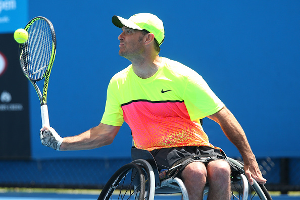 Top seed David Wagner claimed the quad singles title ©Getty Images