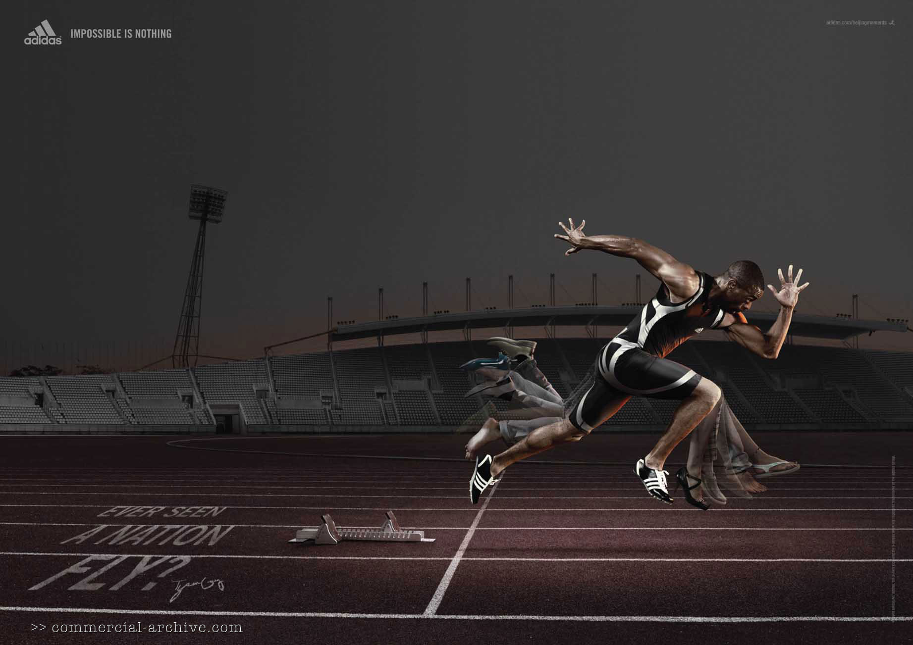 adidas commercial runner