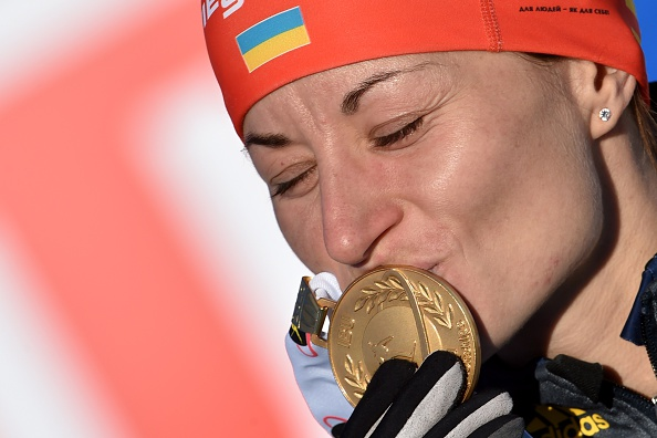 Valja Semerenko tasted World Championship success for the first time ©Getty Images