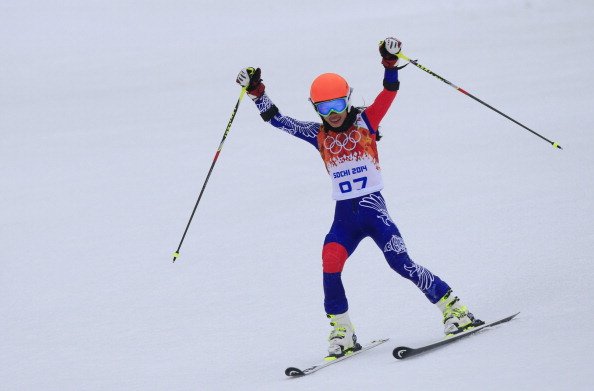 Vanessa Mae's result in Sochi has been annulled by the FIS ©AFP/Getty Images