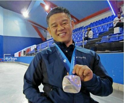Wheelchair curler Haksung Kim has been announced as a Pyeongchang 2018 ambassador ©Pyongchang 2018