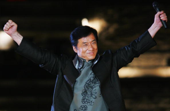 World famous actor Jackie Chan is recording a song for the Beijing 2022 Olympic and Paralympic bid ©Getty Images