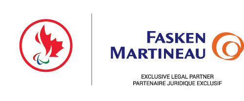 The Canadian Paralympic Committee have announced a corporate partnership with Fasken Martineau ©CPC