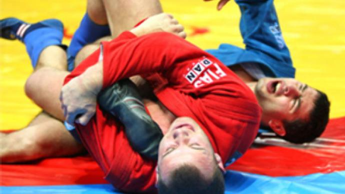 The 2014 President's Sambo Cup took place in Bluewater, Kent, and was won by Russia ©President's Cup
