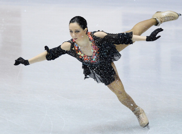 Elizaveta Tuktamysheva will lead a three-strong Russian charge in the ladies singles event ©Getty Images