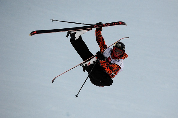 Mike Riddle's score of 95.00 points saw him topping the men's halfpipe podium ©Getty Images